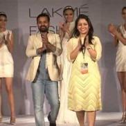 Indian Fashion Designers Khushboo Agarwal and Prem Kumar