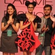 Indian Fashion Designers Isha Redia and Deepak Goswami