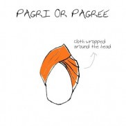 Menswear- Pagri or Pagree