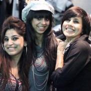 Indian Fashion Designers Sapna Bhavnani and Sukriti Grover