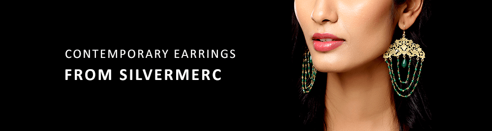 Contemporary earrings from Silvermerc