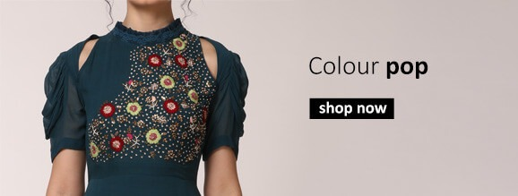 Buy Contemporary Indian clothes for women from Emerging Indian designers