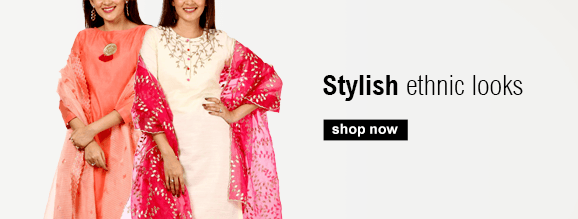 Buy traditional Indian clothes for women including Anarkalis, Salwar Suits