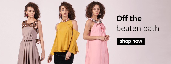 buy quirky and vibrant styles for women including dresses and tops