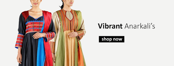 Buy designer Anarkali suits and Salwar suits from Indian fashion designers including handloom fabric suits