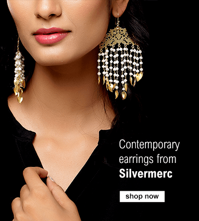 Buy Indian jewellery, Indian silver earrings and dangling detail earrings