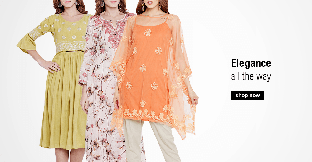 Shop new styles that are perfect for the summer including Tunics, Tops, Kaftans and summer sarees