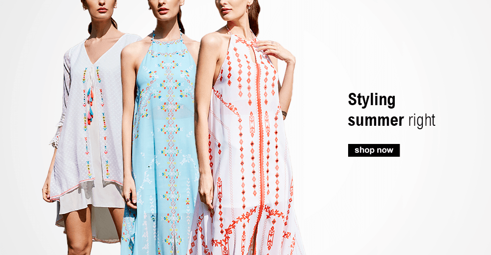 Buy Summer Dresses from Indian designer Mandira Wirk