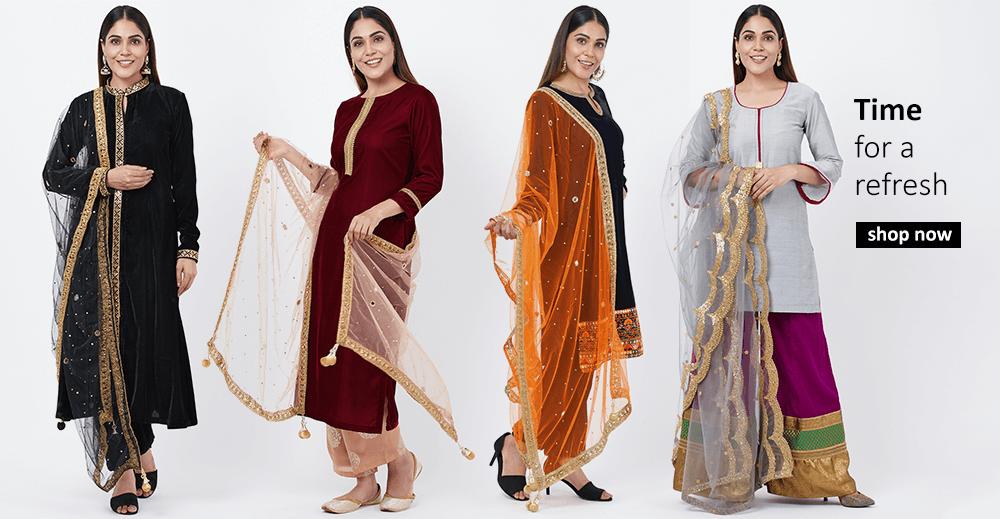 Buy Indian designer Anarkalis, Salwar Suits, Tunic Top Sets in 2020