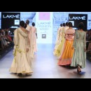 Anushree Reddy at Lakme Fashion Week AW16 - Look 17