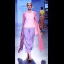 Debashri Samanta at Lakme Fashion Week AW16 - Look 1