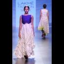 Debashri Samanta at Lakme Fashion Week AW16 - Look 10