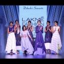 Debashri Samanta at Lakme Fashion Week AW16 - Look 11