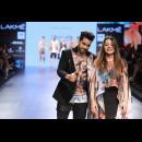 Farah Sanjana at Lakme Fashion Week AW16 - Look 7
