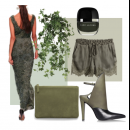 Feeling Green - Featuring Sougat Paul Dress | Polyvore set