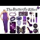 Purple Halter Designer Gown by Indian Designer Raakesh Agarvwal