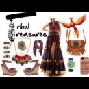 Designer Siddhartha Tytler's tribal dress | Designer Evening Dress and Evening Gowns