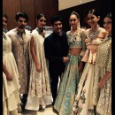 Backstage with Manish Malhotra in Kolkata
