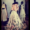Timeless Embroidered Skirt and Crop Top by Manish Malhotra