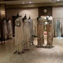 Shimmering Evening Ensembles at the Manish Malhotra Store