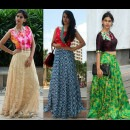 Crop Tops and Skirts by Priti Sahni