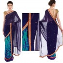 Strong Statement in Blue by Priti Sahni