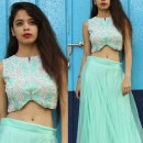 Perfect Crop Top for a Destination Indian Wedding