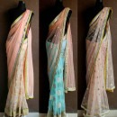 Pastels Galore in these Stylish Sarees by Priti Sahni