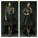 Pineapples in Black Handloom from Rinku Sobti