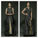 Black Handloom Dress from the Fruits Collection from Rinku Sobti