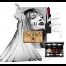 Golden Glamour | Polyvore Featuring Meera Mahadevia Clutch Bag