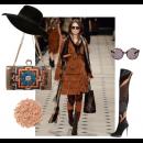 Burberry Brigade | Polyvore featuring Meera Mahadevia Clutch Bag