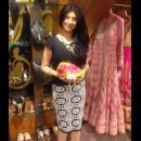 Elephant Tusk Neckpiece from Shillpa Purii at a Store Event