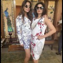 Tanisha Mohan and Amrita Thakur Wearing Dresses from Siddartha Tytler