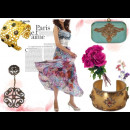 indian designers Roopa Vohra floral  accesories - indian jewellery