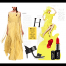 Spring Yellows | Polyvore Featuring Rinku Sobti Dress