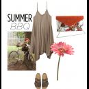 Summer BBQ Style - Featuring Beautiful Clutch by The Purple Sack
