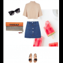 How to Style an Envelope Clutch - Featuring a Stunning Meera Mahadevia Clutch