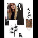 Colour Pop | Polyvore Featuring Meera Mahadevia Clutch