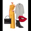 Office Chic - Featuring Stunning Swatee Singh Mustard Jumpsuit