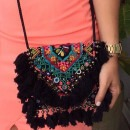 Rock a Black Boho Chic Bag from The Purple Sack