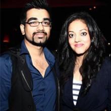 Indian fashion designers Alpana & Neeraj