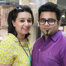 Indian Fashion Designer Hemant and Nandita