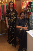 Kyra by Nina and Deepika for traditional sarees