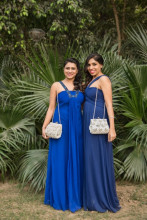 Designers Nitya Mittal Biswas and Isha Gupta for Ruche & Hues