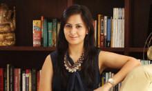 Indian fashion designer poonam bajaj citrine