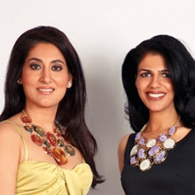 Indian Designers Gauri and Radhika Tandon