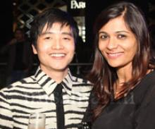 Indian Fashion Designers Jenjum and Jasleen creators of Koga