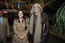 Indian Fashion Designer duo of Meera and Muzzafar Ali for Kotwara