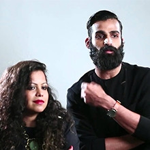 Indian Designers Pranav Mishra and Shyma Shetty